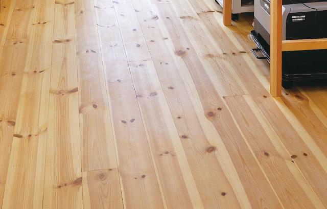 内装床|杉無垢フローリング+蜜蝋ワックスor自然素材塗料