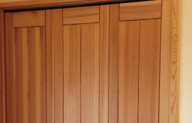 内装建具|ベイツガ無垢+蜜蝋ワックスor自然素材塗料