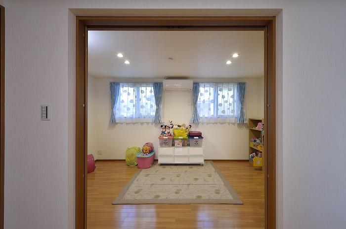 LDから子供部屋を見る